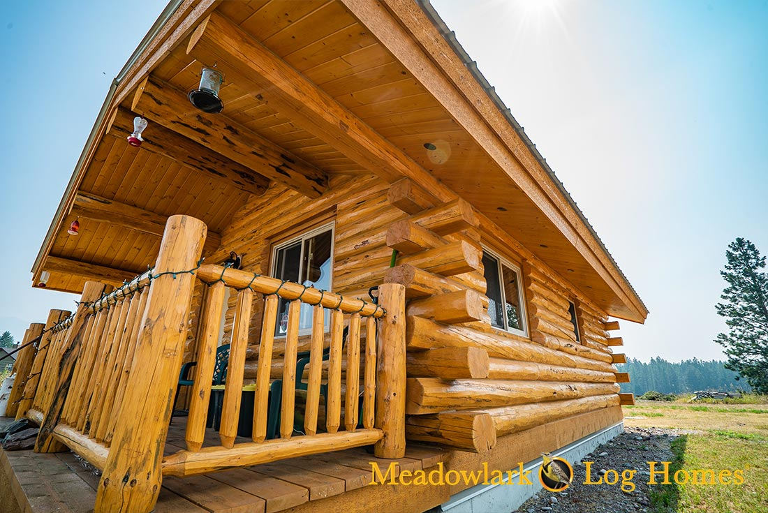 montana-cabin-18x24-amish-log-cabin-exterior-06 One Bedroom House Plans With Porch on 3 bedroom house plans with, cottage house plans with, luxury house plans with,