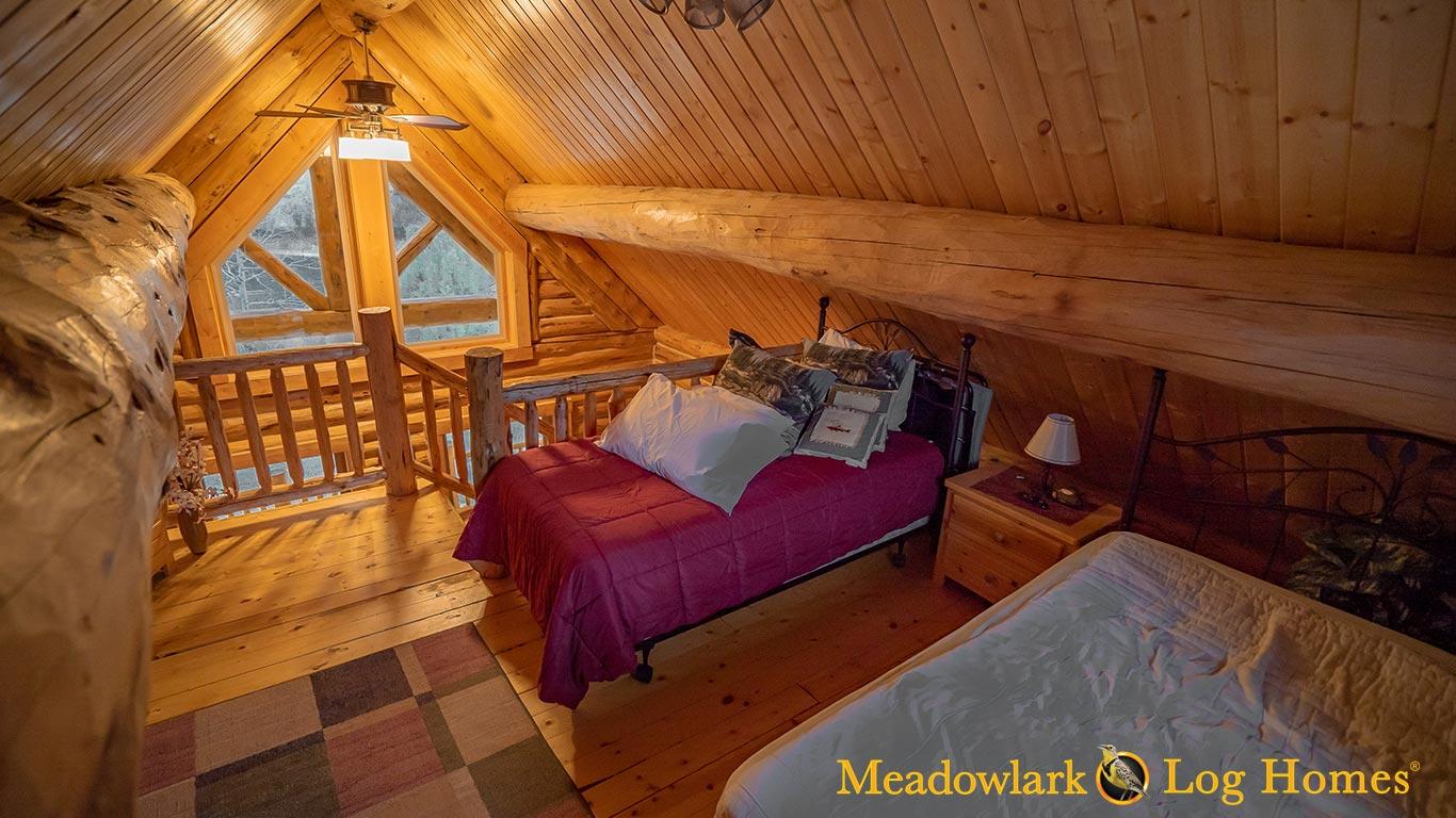 Retreat Cabin 18x24 Meadowlark Log Homes