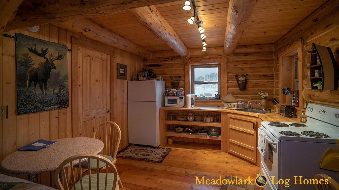Retreat Cabin Meadowlark Log Homes