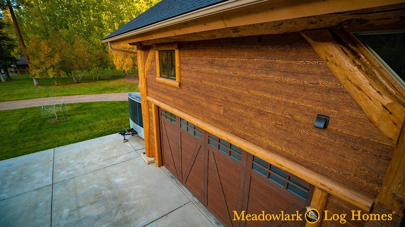 42x52 Montana Timber Frame Meadowlark Log Homes