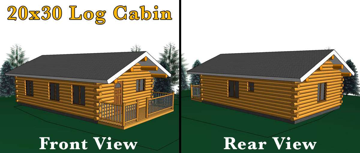 20x30 log cabin meadowlark log homes for 20x30 cabin designs